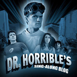 Which TV Show never featured a Dr. Horrible cast member?