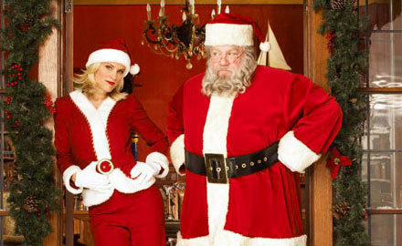 ACTORS WHO PLAYED SANTA CLAUS : George Wendt in ?
