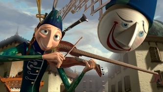 On which Pixar film DVD would you find the animated short, 'One Man Band'?