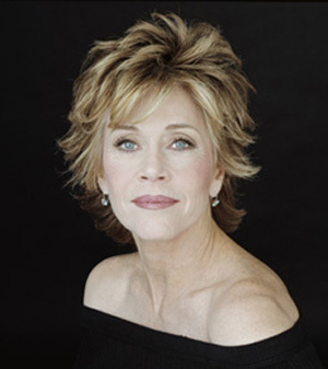 Which character is not played by Jane Fonda ?