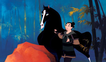 Who is Mulan's horse ?