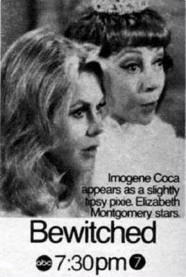 This is a tv guide magazine ad for which Bewitched episode?