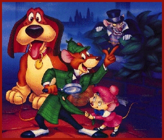 The Great Mouse Detective is the ____ animated feature in the Disney animated features canon ?