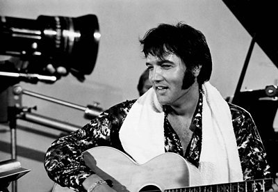 In which năm was this documentry on Elvis filmed?