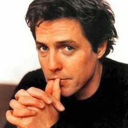 Which character is not played por Hugh Grant ?