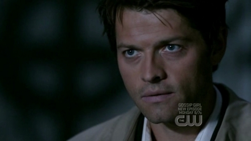 In Lazarus Rising, Castiel tells Dean he gripped him tight and raised him from what?