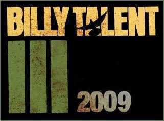 When did Billy Talent 3release?