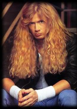 Which band was Dave Mustaine the guitar player before Megadeth ?