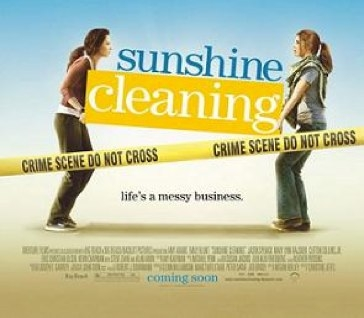 Who does she play in Sunshine Cleaning?