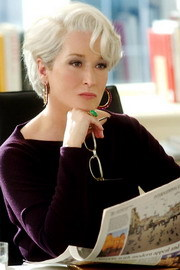 Miranda Priestly: By all means move at a glacial pace. You know how that ______  me.