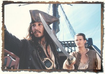 What's the island will and jack sail to in the first movie to get them a crew?