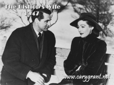 Who starred opposite Cary Grant in The Bishops Wife?