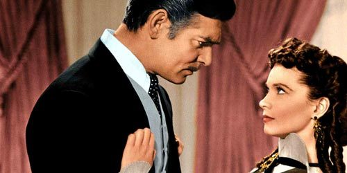 Rhett Butler: Did wewe ever think of marrying just for ____?