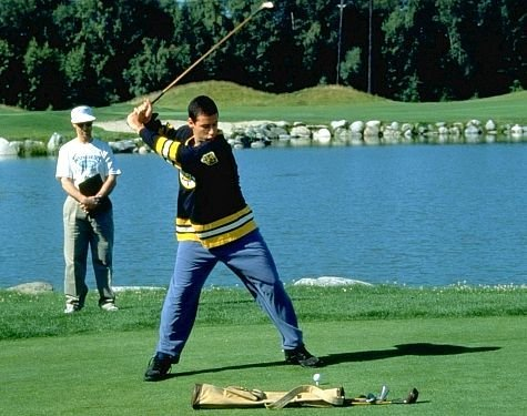 SCRIPT IT: Is the screenplay for 'Happy Gilmore' original または adapted from another work?