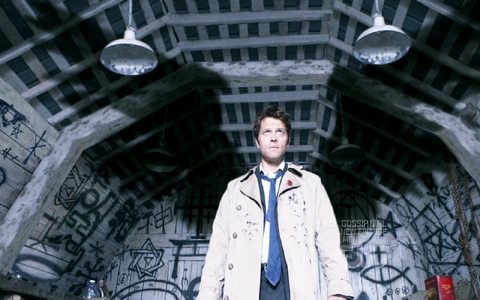 """In the episode """"Rapture"""" What was the first way Castiel used to communicate with Jimmy?"""