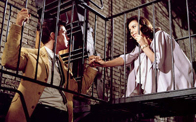 SONGS IN FILM: Which of these songs would anda hear first in the film 'West Side Story'?