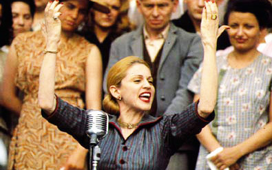 SONGS IN FILM: Which of these songs would you hear first in the film 'Evita'?