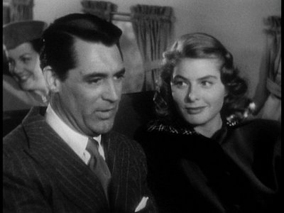 Which one of these films starred Cary Grant and Ingrid Bergman?
