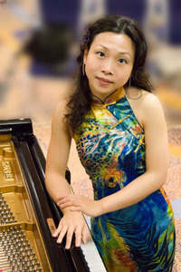 Which Hall did コンサート Pianist Di Xiao NOT play in during her 2008/9 tour?