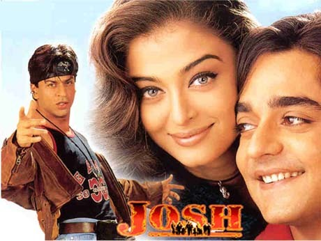 aishwarya played the role of shah rukh khan's sister on the film josh?