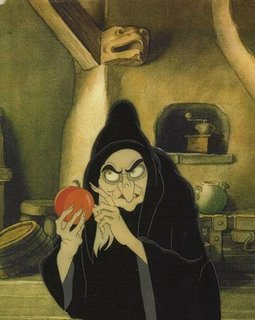 Queen: And since you've been so good to poor old Granny, I'll share a secret with you. This is no ordinary apple. It's a magic ____ apple.