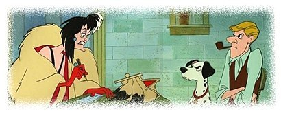Cruella: When can the puppies leave their mother? Two weeks? Three weeks? Roger: _________.
