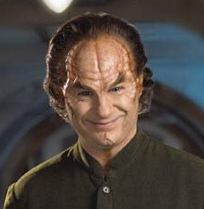 X: It can't be ethical to cause a patient this much pain. Phlox: It's unethical to harm a patient;I can inflict as much pain as I like. Who's X ?