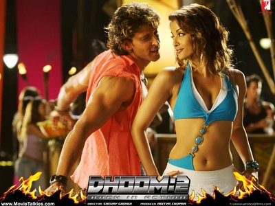 What was the name of her character in the film Dhoom 2?