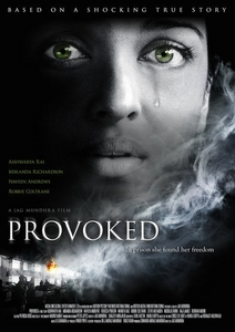 what was the name of the character that she played in the english film provoked?