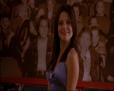 Who is also in the room with Brooke in this scene?