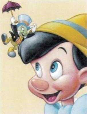 PINOCCHIO : Jiminy Cricket: Let go! Put me down!