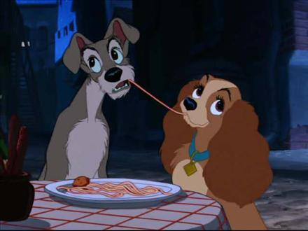 """LADY AND THE TRAMP : Who said """"If you grow careless, dont blame me. And I don't care if the Cossacks do pick you up! Goodbye! And take this with you !"""""""