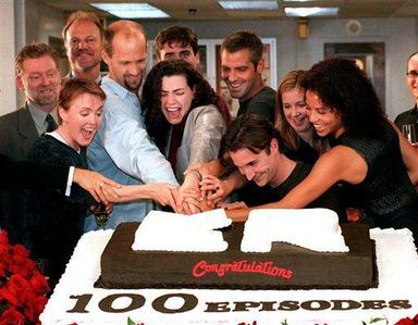 HAPPY 100TH! What was the Название of the 100th episode of 'ER'?
