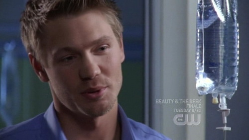 T/F : He's talking to Brooke ?
