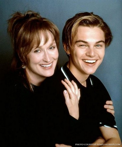 in which movie meryl plays with leonardo di caprio