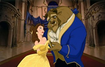 Beast: I'll दिखाना आप to your room. Belle: My room? But I thought... Beast: आप wanna stay in the tower? Belle: No. Beast: ____________