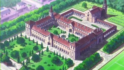 The name of the school the main characters attend is...