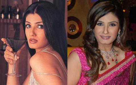 True or false: Raveena Tandon made her acting debut with the film Patthar Ke Phool in 1991?