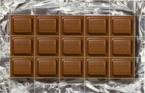 True or False: The Swiss consume more chocolate than any other population in the world.