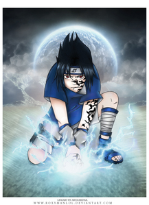 Who taught Sasuke chidori?