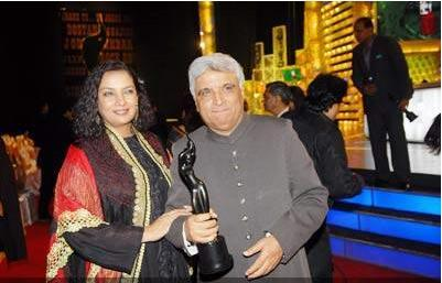 In which year did Shabana Azmi win the Filmfare lifetime achievement award?