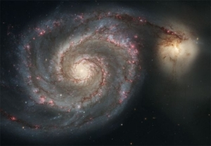 What is the name of this spiral galaxy?