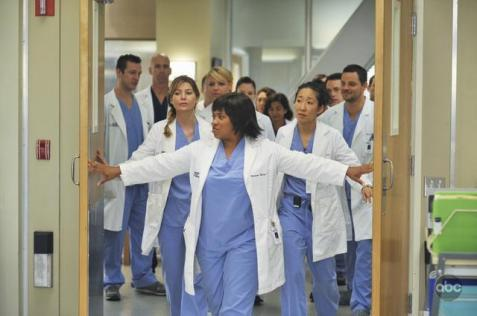 Cristina : That's the Nazi? George: I thought the Nazi would be a _______. Meredith: I thought the Nazi would be... a Nazi.