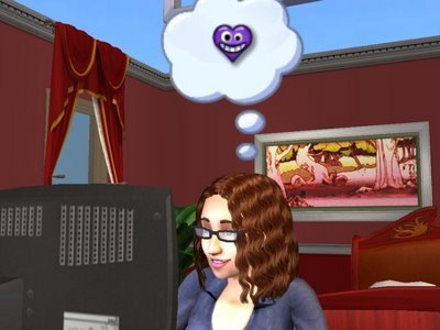 where CAN'T tu do woohoo in sims 2? (with no packs)