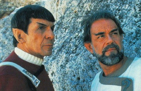 What is Mr Spock's brother's name?