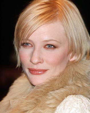 FIRST MOVIE : Cate Blanchett ?