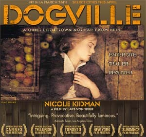 "In ""DOGVILLE"" she plays ?"