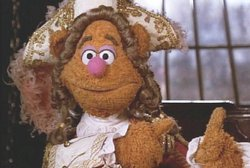 What is the name of Fozzie's imaginary friend that lives in his finger in 'Muppet Treasure Island'?