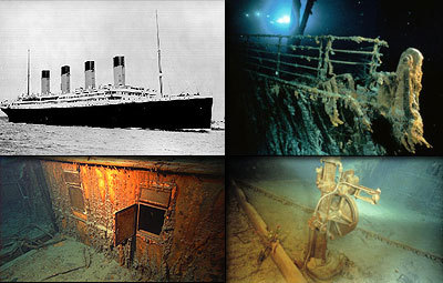 On what date was the shipwreck of Titanic found?