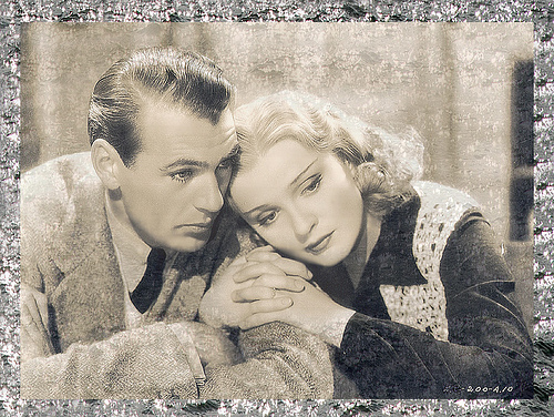 "GARY COOPER : Who was his partner in ""The Wedding night"" ?"